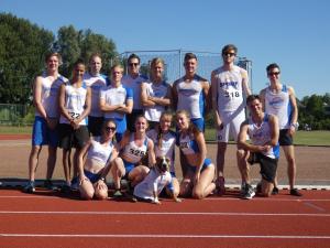 Competitieteam in onze clubkleding