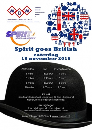 Spirit goes British