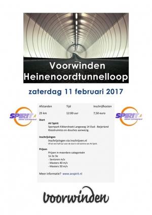 Flyer Heinenoordtunnelloop