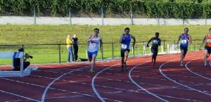 Clubrecord 150 en 300 meter